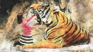 dziewczynka-tygrys